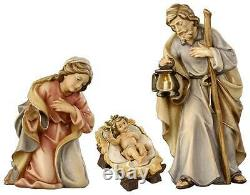 6 Rainell Nativity by PEMA Woodcarvings Holy Family Hand Painted and Carved
