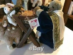 Apple Whimsey Nativity Set 7 pieces