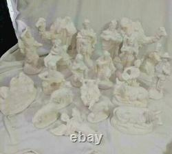 Atlantic Nativity Set 21 pieces 5 to 7 Ready to Paint Ceramic Bisque