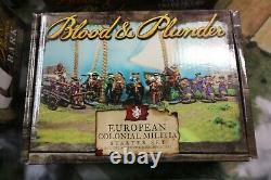 BLOOD & PLUNDER Firelock Games PRIVATEERS, COLONIAL, NATIVE Starter Sets +MORE
