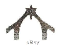 Crosby and Taylor Pewter Miniature Nativity Set 15 Pieces Handcrafted New