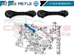 For Bmw Rear Upper Top Hub Wishbone Arms Pair Complete With Bushes Meyle Germany