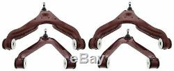 For Iveco Daily Front Lower Upper Suspension Wishbone Track Control Arm Set 4