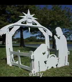 Holy Night Outdoor Nativity Set (a, ons) J8
