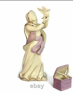 LENOX FIRST BLESSING Nativity DOVE SELLER sculpture set NEW in BOX