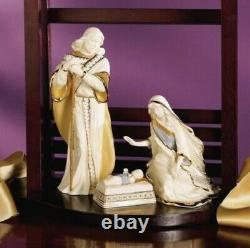 LENOX Nativity FIRST BLESSING HOLY FAMILY set NEW IN BOX