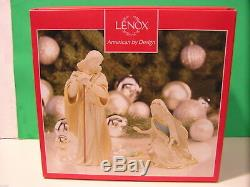 LENOX Nativity FIRST BLESSING HOLY FAMILY set NEW in BOX First Quality