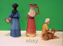 LENOX Nativity MIRACLE IN BETHLEHEM CHILDREN set of NEW in BOX with COA