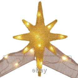 Light Up Nativity Sets Outdoor LED Christmas Holiday Home Yard Decoration 5 ft
