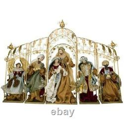 Mark Roberts 2020 Collection Tableau Nativity 39x29 Inches Set of 5 Figurines