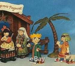 Mary Engelbreit's Nativity set 11 Piece Christmas Collection xmas pageant NEW