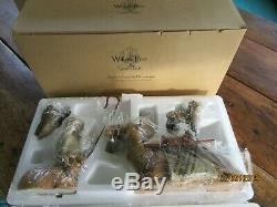 NEW Old Stock DEMDACO Willow Tree Nativity Set Hand Painted Sculpted Figures