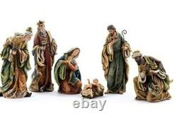 Nativity Set 24 inch Tall Quality Indoor Outdoor Resin Traditional Style