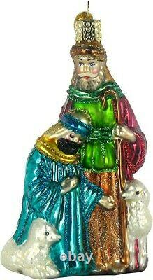 Old World Christmas 14020 Glass Blown Nativity Collection 9pc Set Ornament