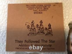 Precious Moments They Followed The Star 3 Wise Men Camels Nativity Set Mini