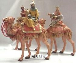 Roman Fontanini 7.5 Collection Kings on Camels, 3 Piece Set (51814)