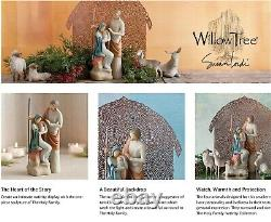 The Holy Family Complete Small-scale 6 Pieces Nativity Set By Demdaco