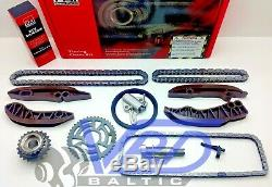 Timing Chain Kit Bmw 1 3 5 7 X1 X3 1.6 2.0 3.0 Tck133c N47d20a N47d20c N57d30a